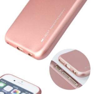 Pouzdro MERCURY i-Jelly Case METAL iPhone 7, 8 (4,7) rose gold