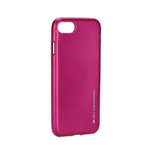 Pouzdro MERCURY i-Jelly Case METAL iPhone 7, 8 (4,7) růžová