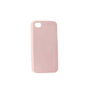 Pouzdro MERCURY i-Jelly Case METAL iPhone 6, 6S 4,7 rose gold