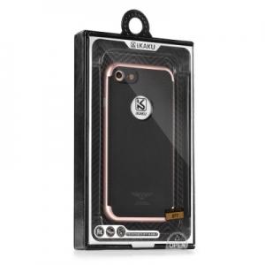 Pouzdro KAKU SILK HD Samsung G930 Galaxy S7 barva rose gold