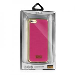 Pouzdro KAKU WALL Samsung J510 (J5 2016) barva růžová