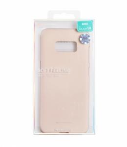 Pouzdro MERCURY Soft Feeling Case Samsung A520 Galaxy A5 (2017) béžová (pink sand)