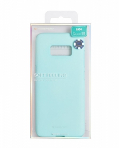Pouzdro MERCURY Soft Feeling Case Samsung A520 Galaxy A5 (2017) mint