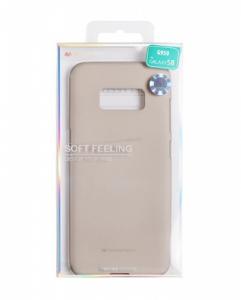 Pouzdro MERCURY Soft Feeling Case Samsung A520 Galaxy A5 (2017) šedá (stone)