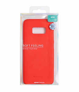 Pouzdro MERCURY Soft Feeling Case Huawei P10 LITE červená