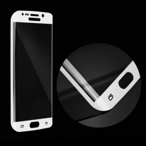 Tvrzené sklo FULL FACE Samsung G955 Galaxy S8 PLUS bílá