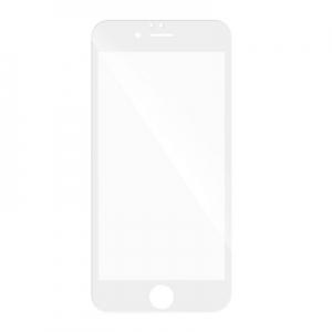 Tvrzené sklo 5D FULL GLUE iPhone 6, 6S (4,7) bílá
