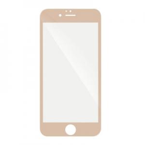 Tvrzené sklo 5D FULL GLUE iPhone 6 PLUS, 6S PLUS (5,5) zlatá