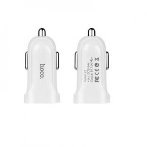 CL adaptér HOCO Z2 1x USB 1,5A barva bílá