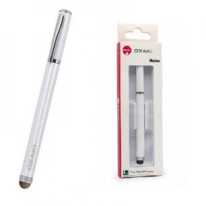 Dotykové pero (stylus) kapacitní OZAKI barva bílá
