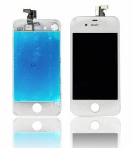 Dotyková deska iPhone 4 + LCD bílá Class A