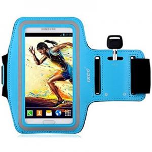 Pouzdro na ruku velikost 6.0´´ -  Samsung N9505 NOTE 3, N7100 NOTE 2 barva světle modrá