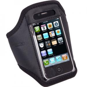 Pouzdro na ruku velikost 4,5´´ - iPhone 3G, 3GS, 4, 4S barva černá