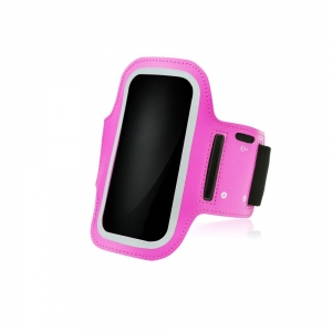 Pouzdro na ruku velikost 6.0´´ -  Samsung N9505 NOTE 3, N7100 NOTE 2 barva růžová