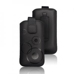 Pouzdro DEKO Samsung G900, G920, G930, J510, A520, HUA P10 Lite, P8 Lite 2017 barva černá