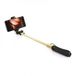 Selfie držák REMAX  P5 3,5mm jack barva zlatá