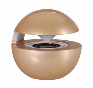 Mini reproduktor BlueTooth LED BALL barva zlatá