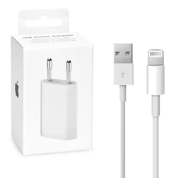 Nabíječ iPhone MB707ZM/B + kabel (blistr) originál