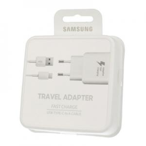 Nabíječ Samsung EP-TA300CWEGKR + kabel TYP-C - rychlo nabíječ (blistr) bílá