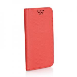 Pouzdro Book STICK MAGNET universal 4,7´´-5,0´´ červená