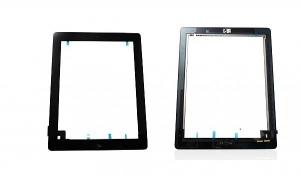 Dotyková deska Apple iPad 2  černá originál + tlačítko HOME + Lepítka