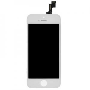 Dotyková deska iPhone 5S + LCD bílá Class A