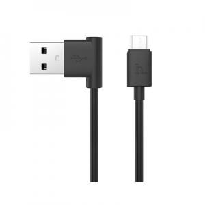 Datový kabel HOCO UPM10 90° micro USB barva černá