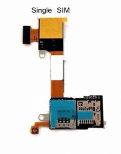 Sony Xperia M2 D2303 flex SIM / MSD card reader (1 SIM verze)
