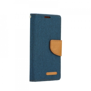 Pouzdro CANVAS Fancy Diary Huawei P9 LITE  MINI navy blue