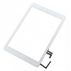 Dotyková deska Apple iPad AIR (iPad 5) bílá originál + tlačítko HOME + Lepítka