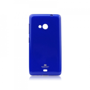 Pouzdro MERCURY Jelly Case Samsung A530 Galaxy A5 (2018) / A8 (2018) tmavě modrá
