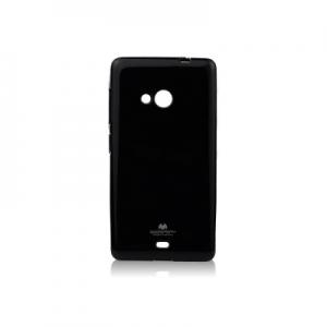 Pouzdro MERCURY Jelly Case Samsung A530 Galaxy A5 (2018) / A8 (2018) černá
