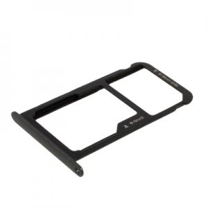 Držák (šuplík) SIM Huawei P9 LITE černá