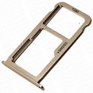 Držák (šuplík) SIM Huawei P9 LITE zlatá