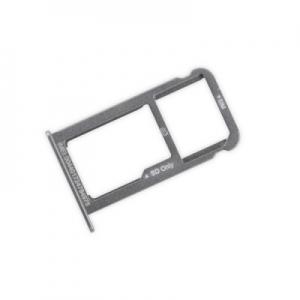 Držák (šuplík) SIM Huawei P9 LITE bílá / silver