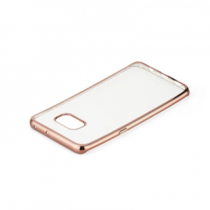 Pouzdro Jelly Case ELECTRO RING Huawei P20 Lite - rose gold