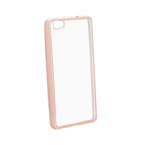 Pouzdro Jelly Case ELECTRO RING Huawei P20 - rose gold