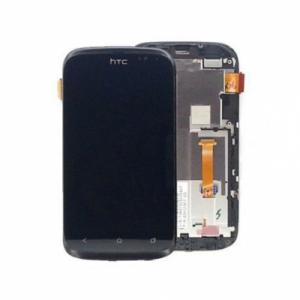 Dotyková deska HTC Desire X + LCD s rámečkem černá