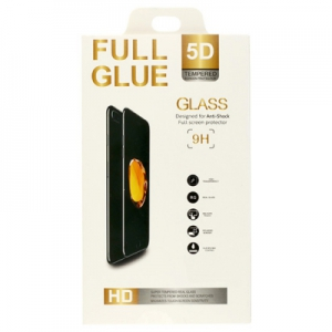 Tvrzené sklo 5D FULL GLUE Huawei MATE 10 LITE černá