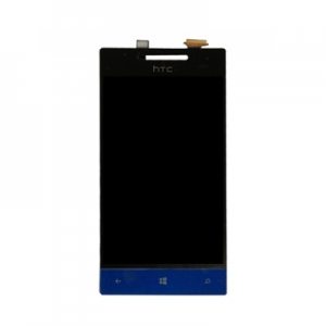 Dotyková deska HTC 8S + LCD originál černá/modrá - ST