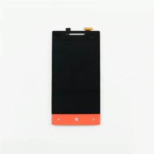 Dotyková deska HTC 8S + LCD originál černá/oranžová - ST