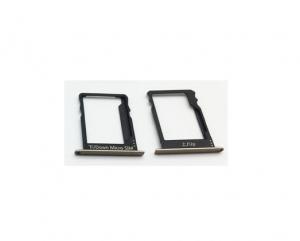 Držák (šuplík) SIM Huawei P8 LITE zlatá