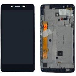 Dotyková deska Lenovo A6000 + LCD s rámečkem černá