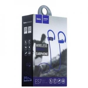 Bluetooth headset HOCO ES7 SPORT barva modrá