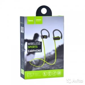Bluetooth headset HOCO ES7 SPORT barva zelená