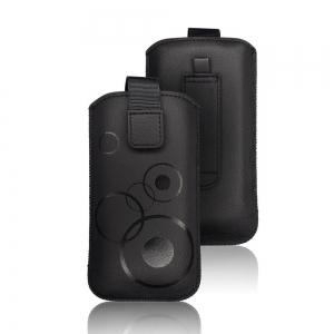 Pouzdro DEKO iPhone X, XS (5,8), P Smart, P20 Pro, S8, S9 barva černá