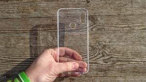 Pouzdro Back Case Ultra Slim 0,3mm Samsung A600 Galaxy A6 (2018) transparentní