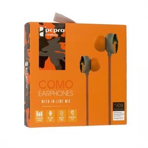 Hands Free COMO M8 3,5 mm jack, barva oranžová