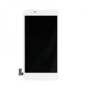 Dotyková deska LG K8 K350 + LCD s rámečkem bílá
