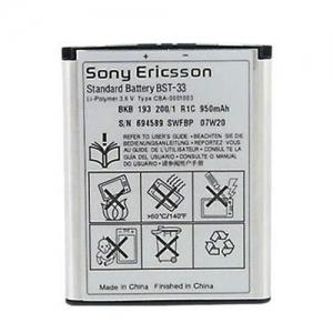 Baterie SonyEricsson BST-33 1000mAh Li-ion (Bulk) - K800